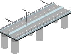 橋梁のイラスト